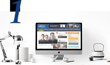 1. 日本最大級の人事ポータル上で自社商品・サービスのプロモーションが可能