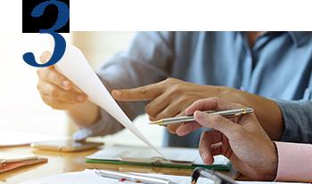 3. 年間契約による情報掲載 計画的なブランディング施策を実施可能